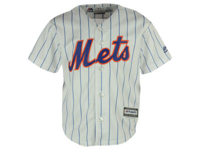 New York Mets Majestic MLB Kids Blank Replica Cool Base Jersey