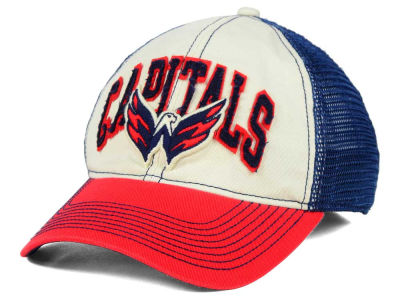 Washington Capitals Reebok NHL 2015 Felt Mesh Slouch Cap
