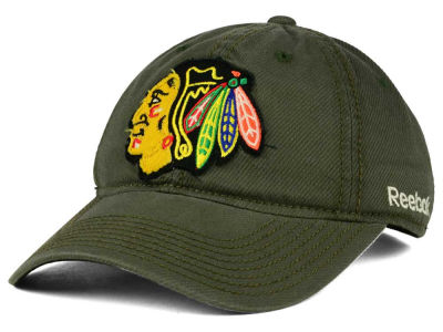 Chicago Blackhawks Reebok NHL 2015 Textured Slouch Cap