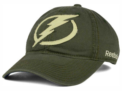 Tampa Bay Lightning Reebok NHL 2015 Textured Slouch Cap
