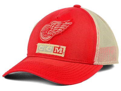 Detroit Red Wings Reebok NHL 2015 Vintage Mesh Cap