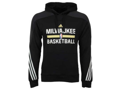 Milwaukee Bucks adidas NBA Men's On Court Hoodie