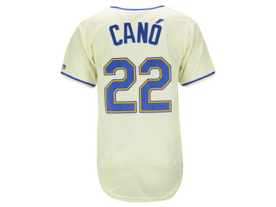 Seattle Mariners Robinson Canó Majestic MLB Men's Player Replica CB Jersey