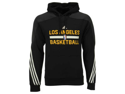 Los Angeles Lakers adidas NBA Men's On Court Hoodie