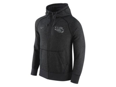 LSU Tigers Nike NCAA Men's Gridron Grey Hoodie
