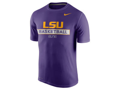 LSU Tigers Nike NCAA Men's Basketball Elite Practice T-Shirt