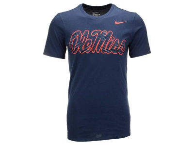 Ole Miss Rebels Nike NCAA Men's Dri-Fit Cotton Travel T-Shirt