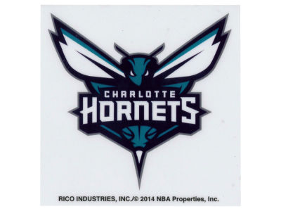 Charlotte Hornets Static Cling Decal
