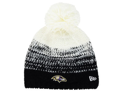 Baltimore Ravens New Era NFL Women's Polar Dust Knit