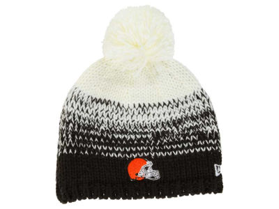 Cleveland Browns New Era NFL Women's Polar Dust Knit