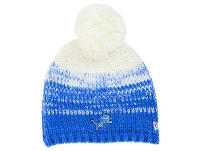 Detroit Lions New Era NFL Women's Polar Dust Knit