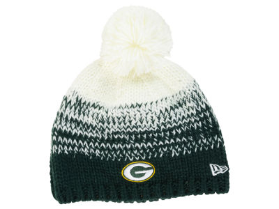 Green Bay Packers New Era NFL Women's Polar Dust Knit