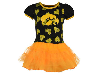 Iowa Hawkeyes NCAA Toddler Love To Dance Dress