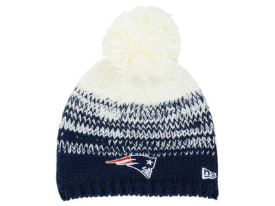 New England Patriots New Era NFL Women's Polar Dust Knit