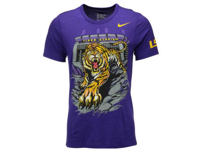 LSU Tigers Nike NCAA Men's Local Authoritative T-Shirt