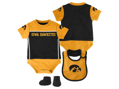Iowa Hawkeyes NCAA Infant Lil Jersey Set