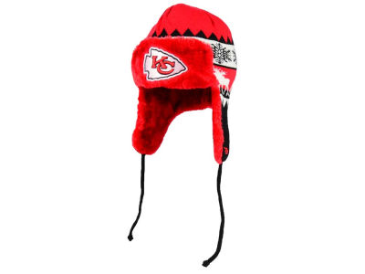Kansas City Chiefs New Era NFL Moose Trapper Knit