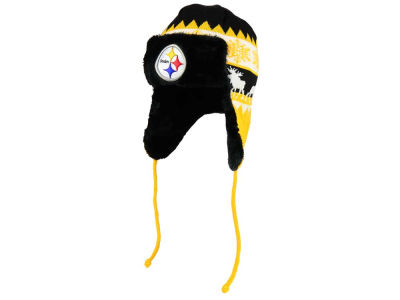 Pittsburgh Steelers New Era NFL Moose Trapper Knit