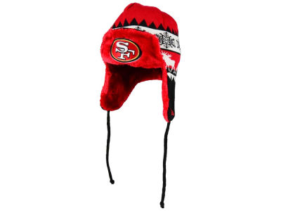 San Francisco 49ers New Era NFL Moose Trapper Knit