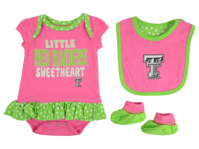 Texas Tech Red Raiders NCAA Newborn Girls Pink Little Sweet Set