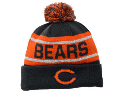 Chicago Bears New Era NFL Biggest Fan Reflective Knit