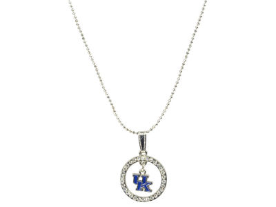 Kentucky Wildcats Circle Crystal Necklace