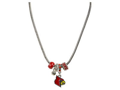 Louisville Cardinals MVP Charm Necklace