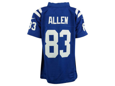 Indianapolis Colts Dwayne Allen Nike NFL Youth Game Jersey