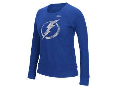 Tampa Bay Lightning Reebok NHL Women's Bigger Logo Crew Sweatshirt