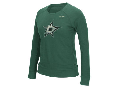 Dallas Stars Reebok NHL Women's Bigger Logo Crew Sweatshirt