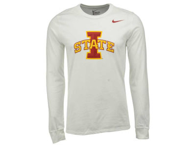 Iowa State Cyclones Nike NCAA Men's Cotton Big Logo Long Sleeve T-Shirt