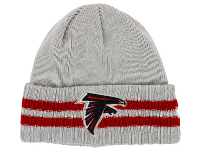 Atlanta Falcons New Era NFL 2 Striped Cuff Knit