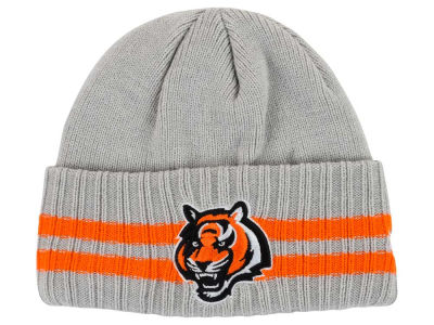 Cincinnati Bengals New Era NFL 2 Striped Cuff Knit