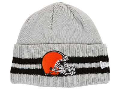 Cleveland Browns New Era NFL 2 Striped Cuff Knit