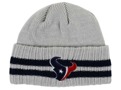 Houston Texans New Era NFL 2 Striped Cuff Knit