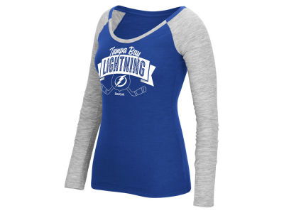 Tampa Bay Lightning Reebok NHL Women's Approval Long Sleeve T-Shirt