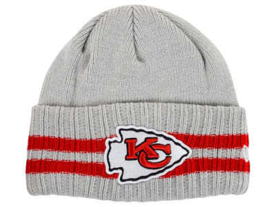 Kansas City Chiefs New Era NFL 2 Striped Cuff Knit