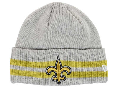 New Orleans Saints New Era NFL 2 Striped Cuff Knit