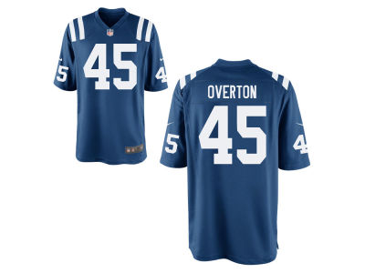 Indianapolis Colts Matt Overton Nike NFL Men's Game Jersey