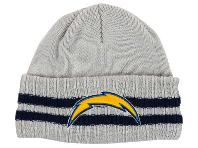 San Diego Chargers New Era NFL 2 Striped Cuff Knit