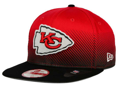 Kansas City Chiefs New Era NFL Line Fade 9FIFTY Snapback Cap
