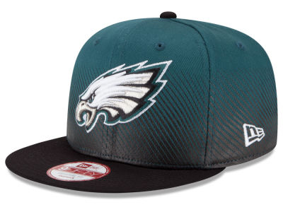 Philadelphia Eagles New Era NFL Line Fade 9FIFTY Snapback Cap