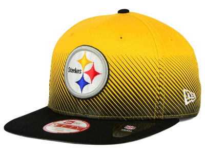 Pittsburgh Steelers New Era NFL Line Fade 9FIFTY Snapback Cap