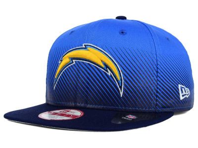 Los Angeles Chargers New Era NFL Line Fade 9FIFTY Snapback Cap