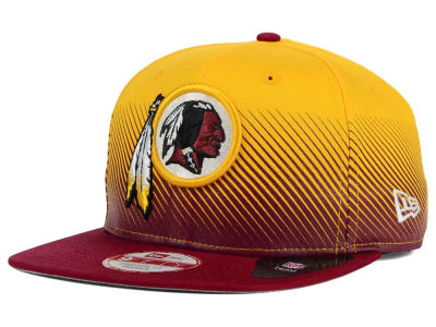 Washington Redskins New Era NFL Line Fade 9FIFTY Snapback Cap