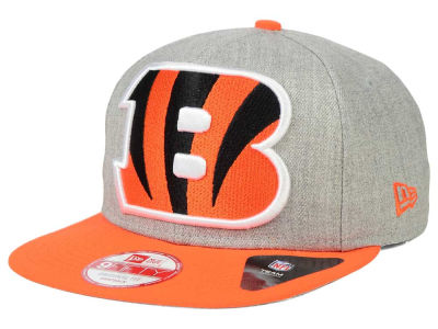 Cincinnati Bengals New Era NFL Logo Grand 9FIFTY Snapback Cap
