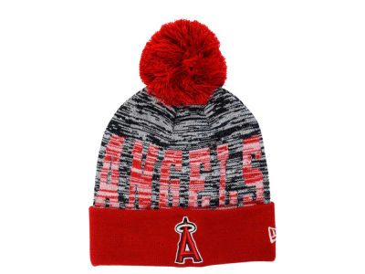 Los Angeles Angels New Era MLB Word Fuzz Knit