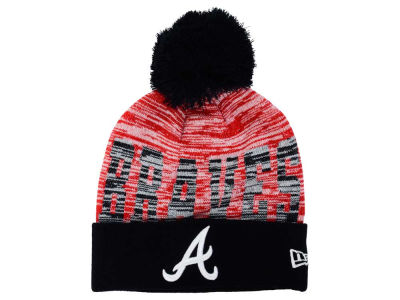 Atlanta Braves New Era MLB Word Fuzz Knit