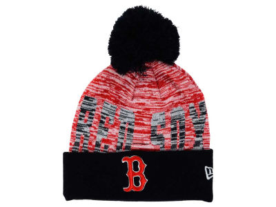 Boston Red Sox New Era MLB Word Fuzz Knit