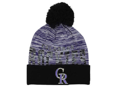 Colorado Rockies New Era MLB Word Fuzz Knit